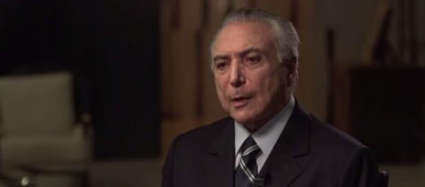 Michel Temer dá entrevista para o 'Fantástico'