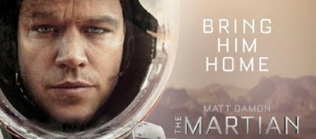The Martian movie poster (YouTube)