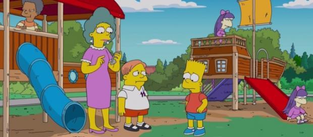 'The Simpsons' - 'Orange Is the New Yellow' screencap via FOX
