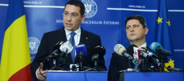 Titus Corlățean acuzat că l-a ajutat ilegal pe Ponta