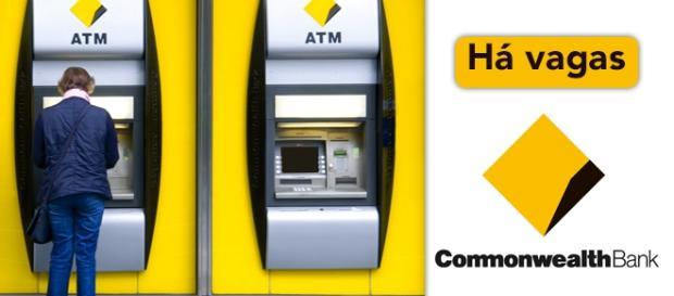 Vagas abertas no Commonwealth Bank - Foto: Reprodução Catobrandpartners