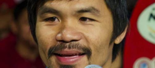 8-division boxing champion Manny Pacquiao via Wikipedia