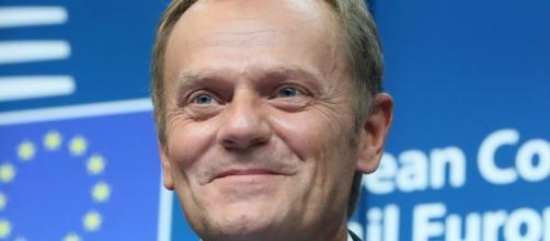 Donald Tusk en contra de los comentarios del Sr. Johnson