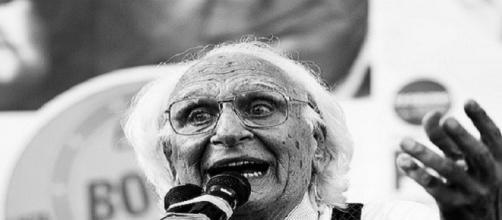 il leader del Partito Radicale Marco Pannella