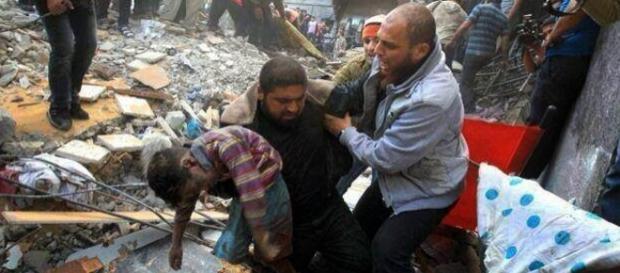 Il genocidio dei palestinesi continua