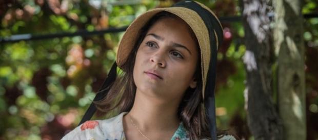 Olívia é uma das filhas de Santo com Luzia