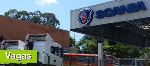 Scania em São Bernardo do Campo (Foto: Reprodução/Google)