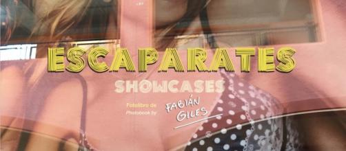 ESCAPARATES / SHOWCASES Portada del fotolibro de Fabián Giles