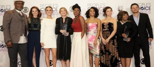 Il cast della 12 stagione di Grey's Anatomy