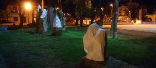 La noche del funeral de Pinuccio Sciola
