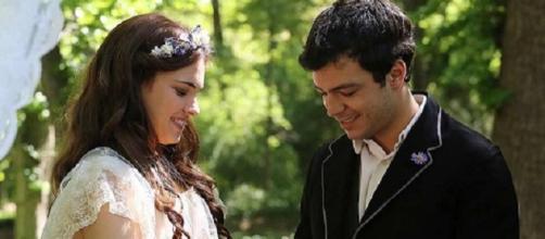 Pablo e Leonor si sposano, Una Vita soap