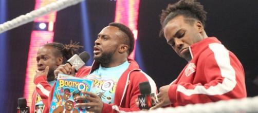 The New Day [image via USA Network/'WWE Monday Night RAW']