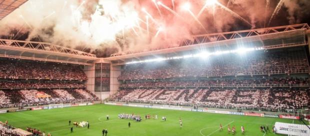 Atlético MG e São Paulo estádio Independencia