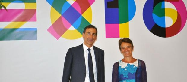 Il candidato del PD a Milano, Beppe Sala