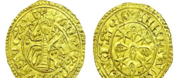 O Morabitino foi moeda entre os reinados de D. Sancho I e D. Sancho II