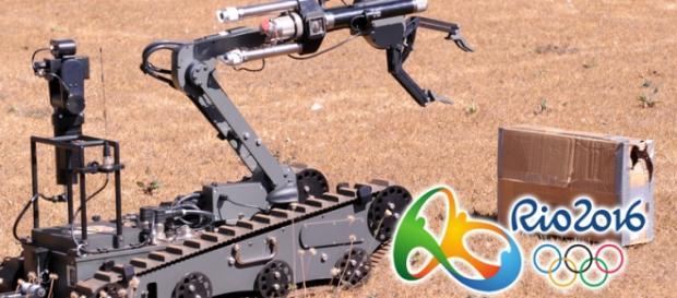 O robô será utilizado como auxílio na segurança pública.