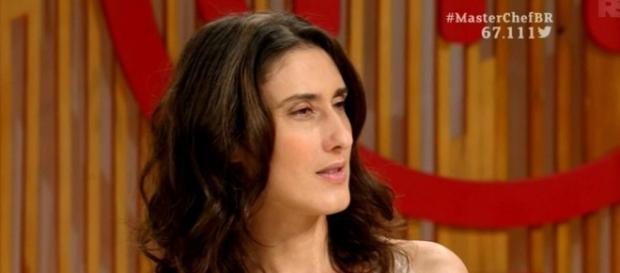 Paola no MasterChef (Reprodução/Bandeirantes)