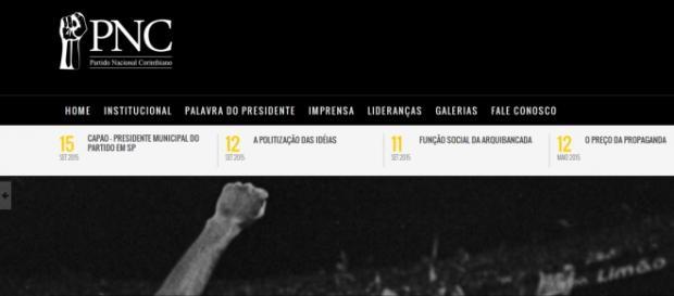 Partido Nacional Corinthiano. Reprodução site oficial