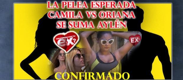 Pelea confirmada por Aylén Milla