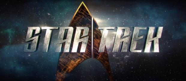 "Screenshot of ""Star Trek"" (2017) logo. CBS/YouTube."