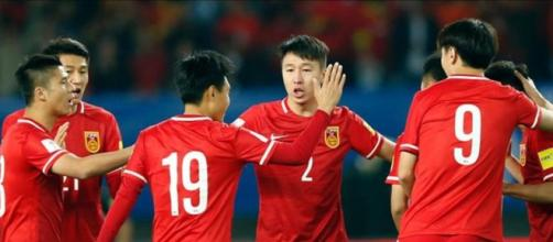 Selección china de fútbol (Foto: Sport).