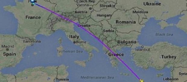 Avion prăbușit în Marea Mediterană