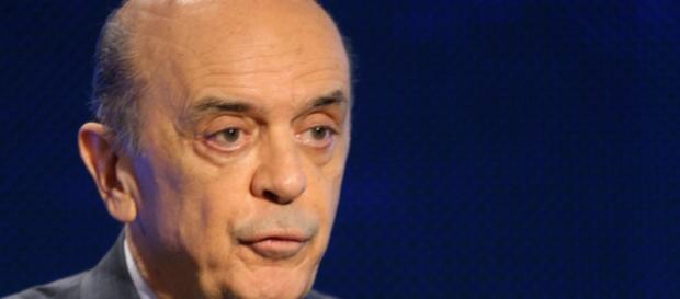 José Serra deu discurso enfatizando a proteção das fronteiras brasileiras.