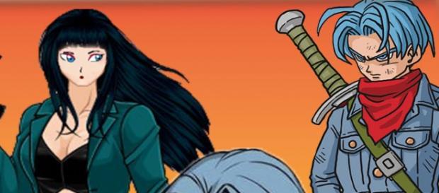 Mai que fuera integrante de la banda de PIlaf y novia de Trunks en el presente, seria la esposa de Trunks en el futuro.