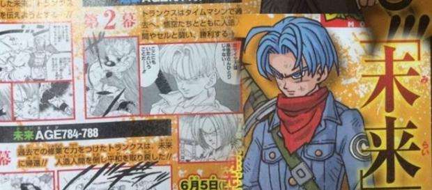 Nueva revista sobre Trunks del Futuro