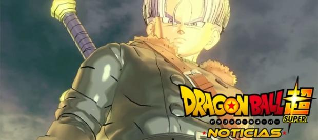 Trunks Xeno en el trailer en japones