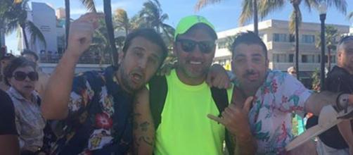 Pio e Amedeo a Miami con Bobo Vieri