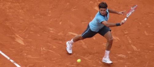Roger Federer at Roland Garros in 2009/ Photo: Yann Caradec (Flickr) CC BY-SA 2.0