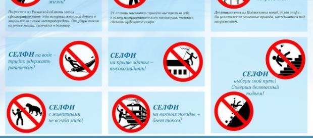 A Rússia também luta contra as selfies perigosas