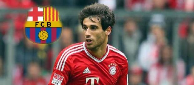 El Barça estaría negociando con el Bayern por Javi Martínez