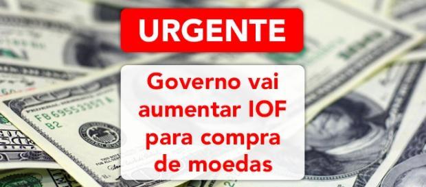 Governo brasileiro triplica valor de imposto para compra de moedas estrangeiras - Foto: Reprodução Cnews