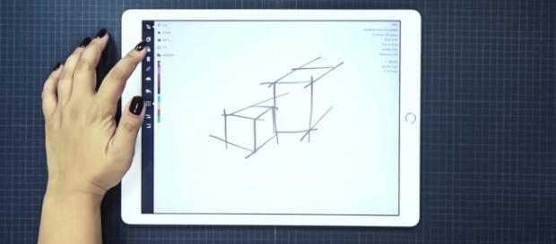 iPad Pro Concepts screencap via Concepts App YouTube
