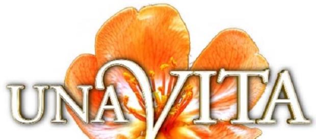 Una Vita, logo della soap opera di Canale 5