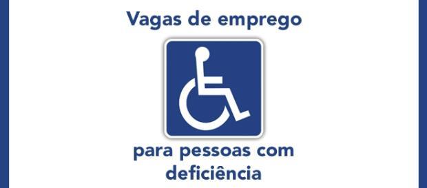 Vagas de emprego para pessoas com deficiência