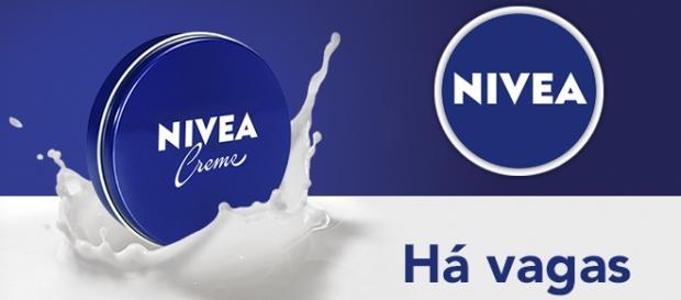 Vagas na NIVEA. Foto: Reprodução Nivea.