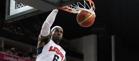 King James estará nos Jogos Olímpicos