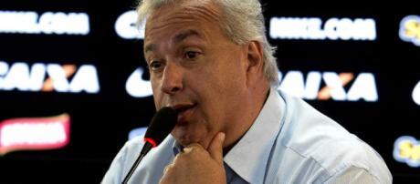 O presidente do Corinthians, Roberto de Andrade. (Divulgação Agência Corinthians)