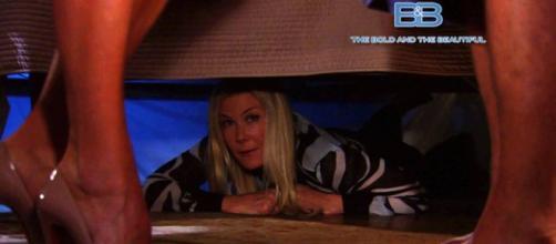 Anticipazioni Beautiful, Brooke sotto il letto