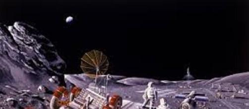 Colony on the Moon - Photo: ro.wikipedia.org