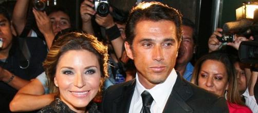Isabella Camil e Sergio Mayer são casados.