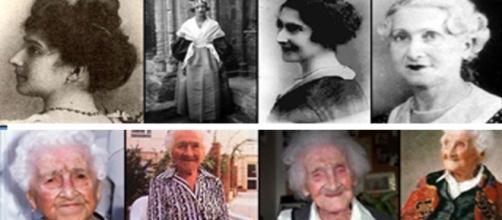Jean Calment desde los 21, hasta los últimos días de su larga vida.