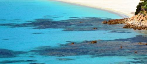 La spiaggia di Tuerredda (Teulada).