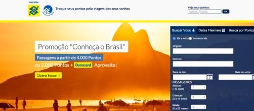 Plataforma on-line de troca de pontos.
