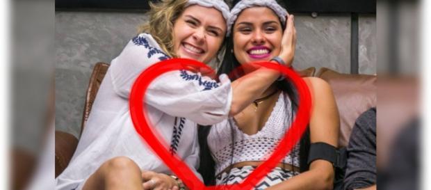 Ana Paula e Munik continuam sendo grandes amigas