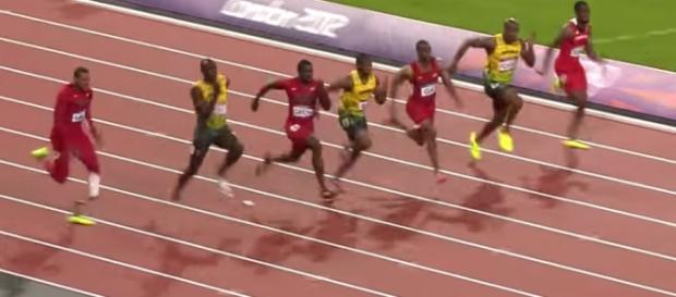 Atletismo nos Jogos de 2012. Reprodução: Youtube