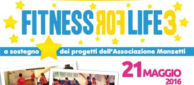 Fitness for life 2016, evento sportivo e di beneficenza